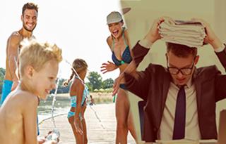 Tre tips på hur du klarar stressen inför semestern
