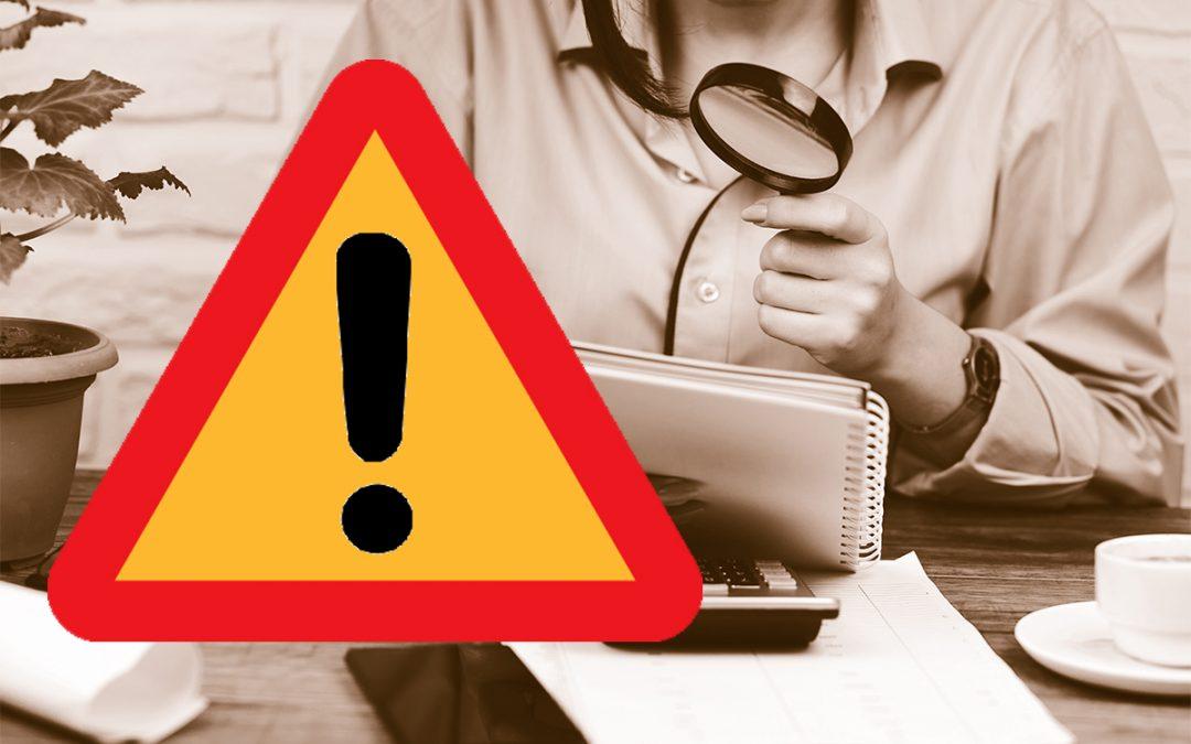 OBS – Varning för förväxling eller fakturaskojeri!