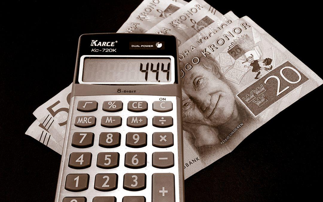 Skattetrycket på väg upp igen