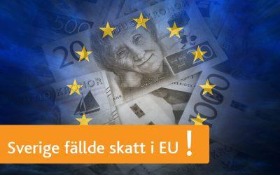 Sverige var med och stoppade digitalskatten i EU