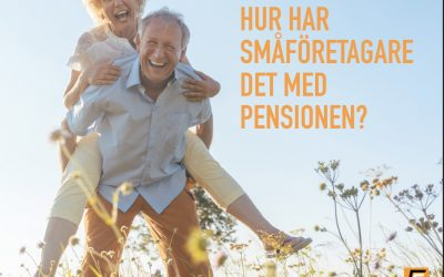 Hur har småföretagare det med pensionen?