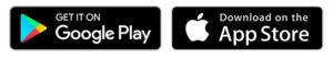 App stor e Google play bredvid